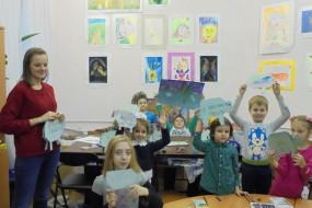 Мир графики в творчестве детей